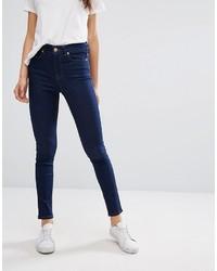 Jeans aderenti blu scuro di Oasis
