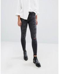 Jeans aderenti blu scuro di Only
