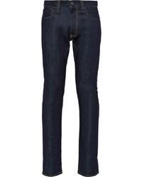Jeans aderenti blu scuro di Prada