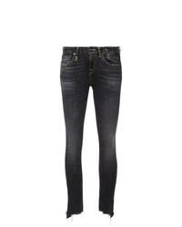Jeans aderenti blu scuro di R13