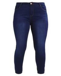 Jeans aderenti blu scuro di Second Script Curve