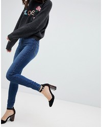 Jeans aderenti blu scuro di Vero Moda