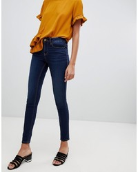 Jeans aderenti blu scuro di Vila