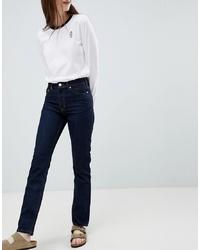 Jeans aderenti blu scuro di Wood Wood