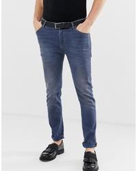 Jeans aderenti blu di ASOS DESIGN