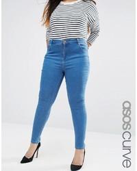 Jeans aderenti blu di Asos
