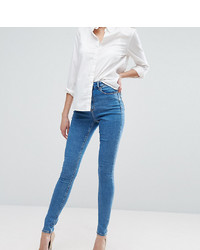 Jeans aderenti blu di Asos Tall