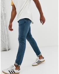 Jeans aderenti blu di Celio