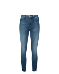 Jeans aderenti blu di Mother