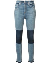 Jeans aderenti di cotone azzurri di Rag & Bone