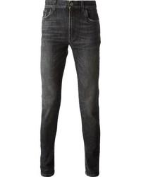 Jeans aderenti grigio scuro