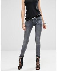 Jeans aderenti grigio scuro di G Star