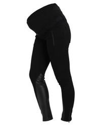 Jeans aderenti in pelle neri di LOVE2WAIT
