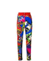 Jeans aderenti multicolori