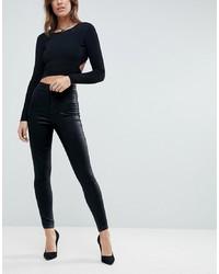 Jeans aderenti neri di ASOS DESIGN