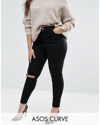 Jeans aderenti neri di Asos