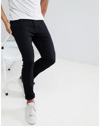 Jeans aderenti neri di Burton Menswear