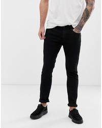 Jeans aderenti neri di Hugo
