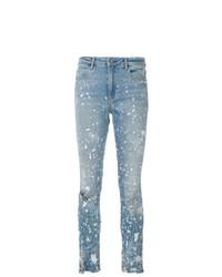 Jeans aderenti strappati azzurri di Alexander Wang