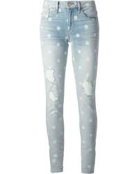 Jeans aderenti strappati azzurri di Marc by Marc Jacobs