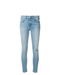 Jeans aderenti strappati azzurri di Rag & Bone