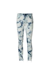 Jeans aderenti strappati azzurri di T by Alexander Wang
