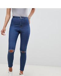 Jeans aderenti strappati blu di ASOS DESIGN