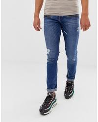 Jeans aderenti strappati blu di LOYALTY & FAITH