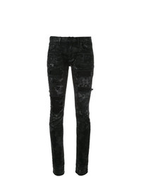 Jeans aderenti strappati neri di Faith Connexion