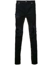 Jeans aderenti strappati neri di God's Masterful Children