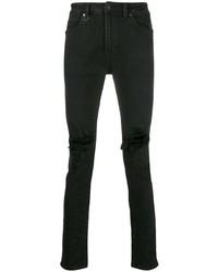 Jeans aderenti strappati neri di Neuw