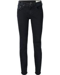 Jeans aderenti strappati neri di Rag and Bone