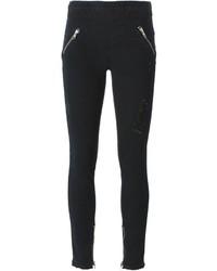 Jeans aderenti strappati neri di RtA