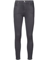 Jeans aderenti verde scuro di J Brand