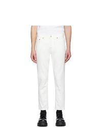 Jeans bianchi di Acne Studios