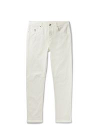 Jeans bianchi di Brunello Cucinelli