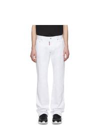 Jeans bianchi di DSQUARED2