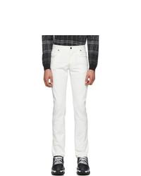 Jeans bianchi di Fendi
