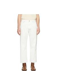 Jeans bianchi di Maison Margiela
