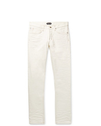 Jeans bianchi di Tom Ford