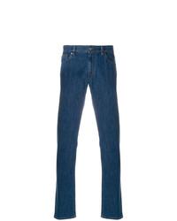 Jeans blu scuro di Ermenegildo Zegna