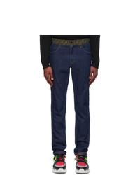 Jeans blu scuro di Fendi