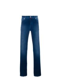 Jeans blu scuro di Kiton
