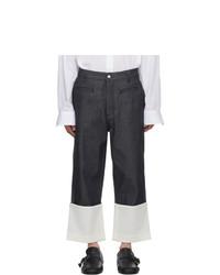 Jeans blu scuro di Loewe