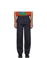 Jeans blu scuro di Moncler Genius