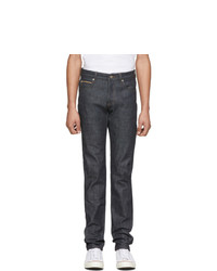 Jeans blu scuro di Naked and Famous Denim