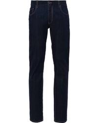 Jeans blu scuro di Prada