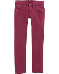 Jeans bordeaux