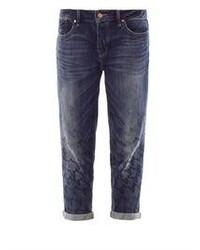 Jeans boyfriend blu scuro