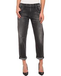 Jeans boyfriend grigio scuro